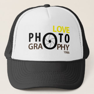 i love photography Hat