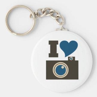 I Love Photography Keychains
