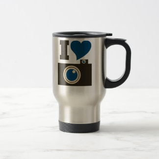 I Love Photography Coffee Mug