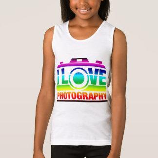 I Love Photography Tank Top