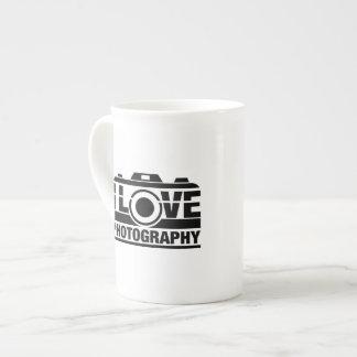 I Love Photography Tea Cup
