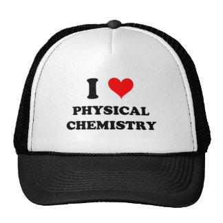 I Love Physical Chemistry Mesh Hats