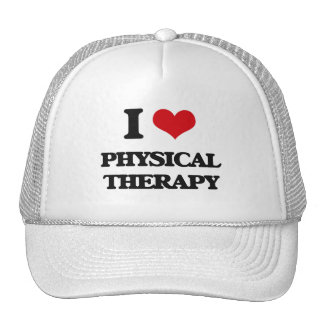 I Love Physical Therapy Trucker Hat