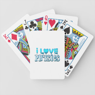 I Love Physics Bicycle Playing Cards