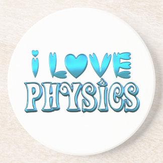 I Love Physics Coaster