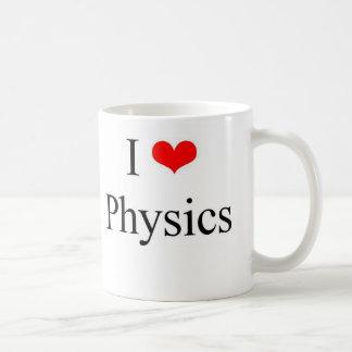 I Love Physics Coffee Mug