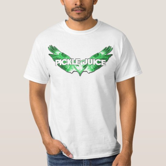 I Love Pickle Juice Wing Heart T-Shirt