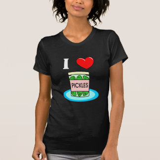 I Love Pickles T-shirts