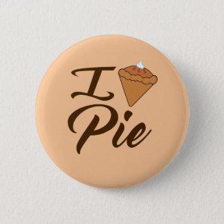 I Love Pie 2 Inch Round Button