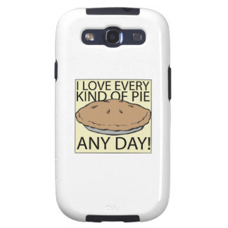 I Love Pie Galaxy S3 Covers