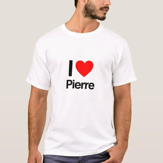 i love Pierre T-Shirt