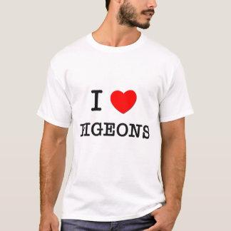 I Love PIGEONS T-Shirt