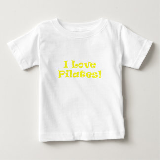 I Love Pilates Baby T-Shirt