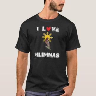 I Love Pilipinas Basic Dark Shirt