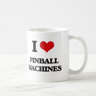 I Love Pinball Machines Coffee Mug