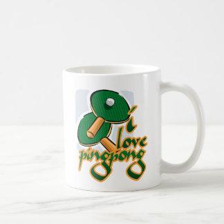 I Love Ping Pong We Love Ping Pong Coffee Mug