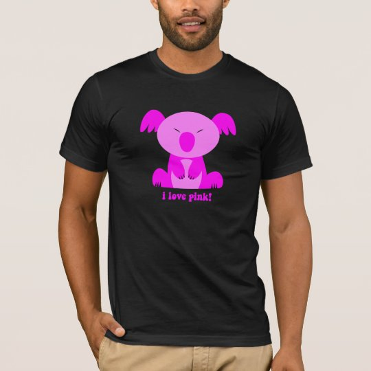 I love pink Koala Bear T-Shirt