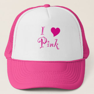 I Love Pink! Trucker Hat