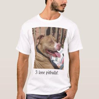 I love pitbulls! T-Shirt