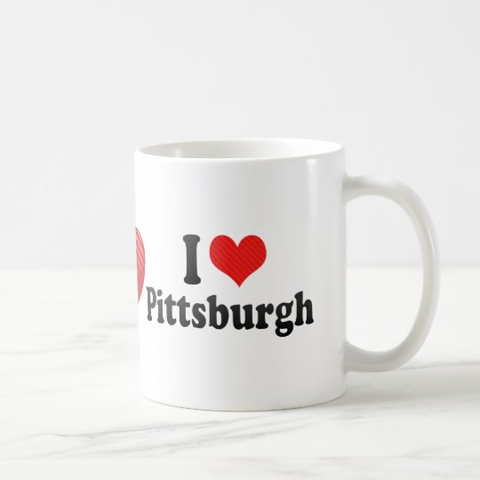 I Love Pittsburgh Coffee Mug