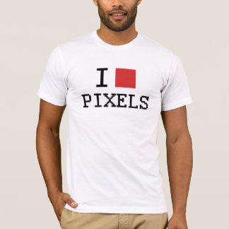 I Love Pixels / I Heart Pixels T-Shirt