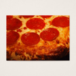 I love Pizza Business Card