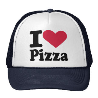 I love pizza mesh hat