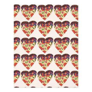 i love pizza letterhead