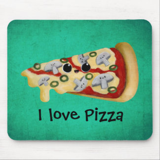 I love Pizza Mouse Pad