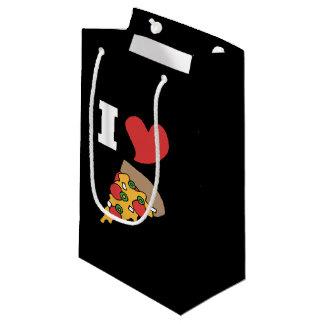i love pizza small gift bag