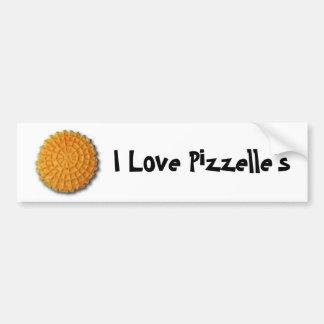 I love Pizzelle's Bumper Sticker