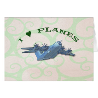 I Love Planes - Atlas A400M Aircraft Card