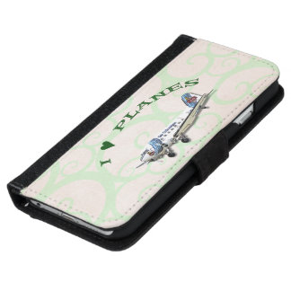 I Love Planes - Dakota DC3 iPhone 6 Wallet Case