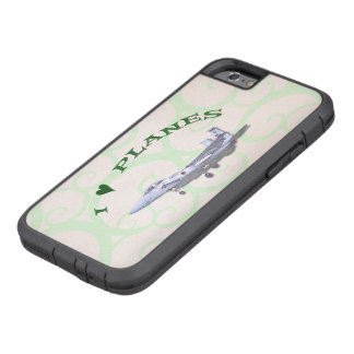 I Love Planes - F15D Eagle Tough Xtreme iPhone 6 Case