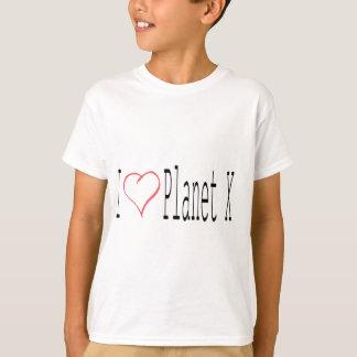 I Love Planet X T-Shirt
