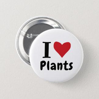 I Love Plants 2 Inch Round Button