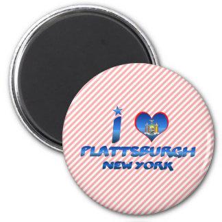 I love Plattsburgh, New York Magnet