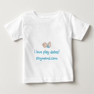 """I love play dates"" Shirt - Boy"