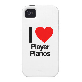 i love player pianos iPhone 4 cases