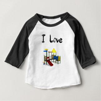 I Love Playground Baby T-Shirt
