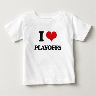 I Love Playoffs Tee Shirts