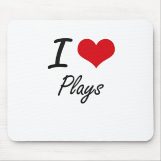 I love Plays Mouse Pad