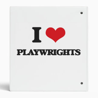 I love Playwrights Binders
