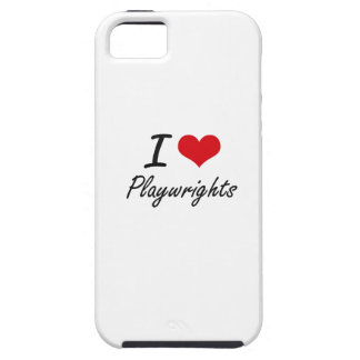 I Love Playwrights iPhone 5 Case