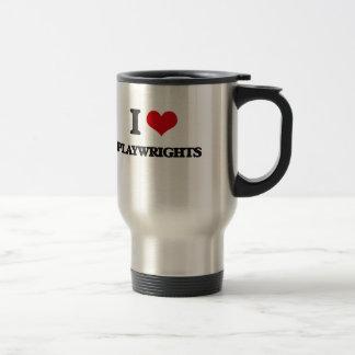 I love Playwrights Mug