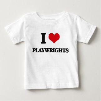 I Love Playwrights Tshirt