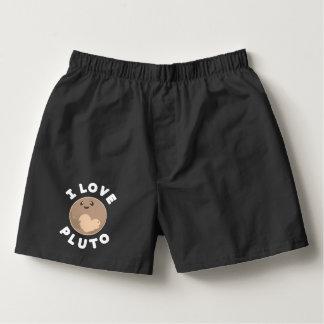 I Love Pluto Boxers