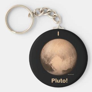 I love Pluto Keychain
