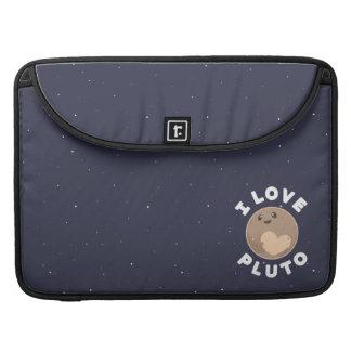 I Love Pluto Sleeve For MacBooks