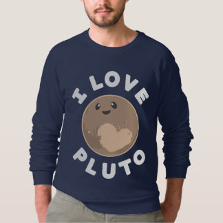 I Love Pluto Sweatshirt